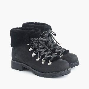 Jcrew Black Nordic Boots